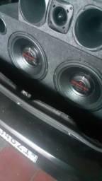 Troco por alto-falante bobina dupla