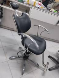 Cadeira Hidraulica Reclinável