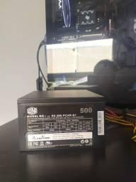 Fonte 500w cooler master