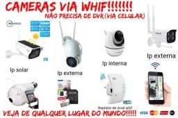 Título do anúncio: Cameras via whif(nao precisa dvr)via celular