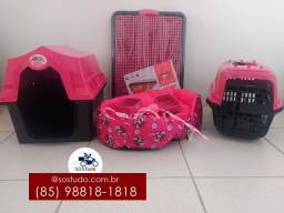 Título do anúncio: kit pet rosa fofinho *