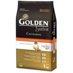 Ração Golden Gatos Castrados Salmão 10,1 kg