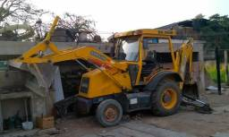 Máquina retroescavadeira randon 2011 motor mwm serie 10)
