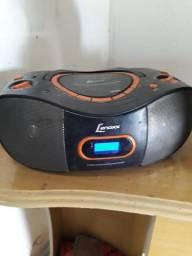 Vendo essa bola de home theater pega tudo pendrive cabo transmissor fone de ouvido cd etc.