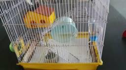 Gaiola para hamster *50 reais