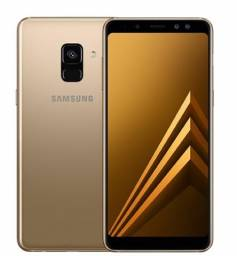 Samsung Galaxy A8 dourado, Novo lacrado, Original