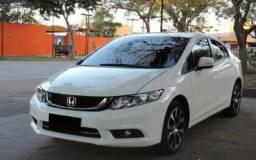 Honda civic 15/16 branco top - 2015