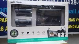 """Kit de caméras sem fio Intelbras com monitor lcd 7"""""""