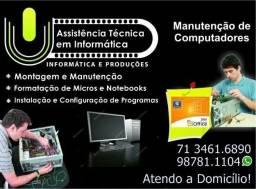 Manutenção de computadores Salvador BA