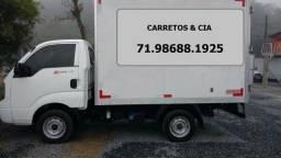 Transportes de Cargas Fretes Carretos Mudanças Capital e Interior