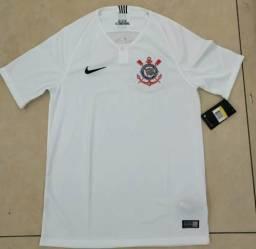 Camisa Corinthians branca 3d2711b9af426