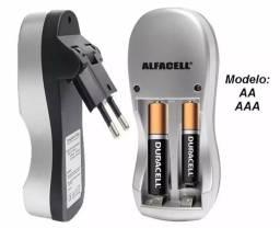 Carregador de Pilhas Alfacell AA/AAA