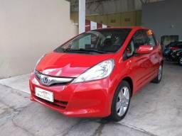 Honda 2014 Fit ex 1.5 Automatico Direcao Eletrica completo vermelho 2014
