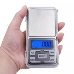 Mini Balança Digital De Bolso Alta Precisão 0,1g Até 500g
