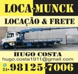 Caminhão Munck Volta Redonda 24- * Cesto Aéreo Frete Locamunck poste