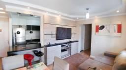 Apartamento com 3 dormitórios à venda, 72 m² villa flora - hortolândia/sp