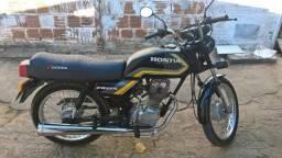 Honda cg 125 ML ano 1988 uma relíquia - 1988