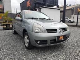 Clio sedan 1.6 hi-flex 2009 - 2009