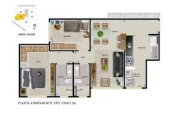 Apartamento à venda com 2 dormitórios em Dona clara, Belo horizonte cod:264658