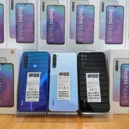 Entrego Agora! REDMI Note 8 da Xiaomi. novo lacrado com garantia