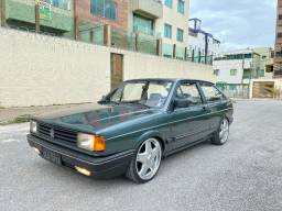 Volkswagen - Gol 1.8 Turbo - Placa Preta - Regularizado no doc