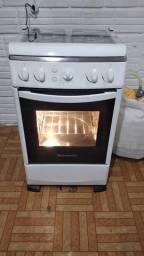 Vendo fogão continental todo elétrico com luz no forno