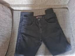 Calça  jeans preta masculina