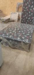 Cama box casal 8 cm direto de fábrica