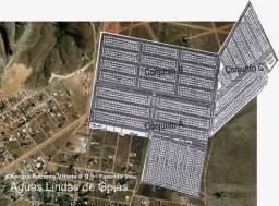 Loteamento urbano em Águas Lindas GO