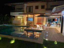 Casa com 5 dormitórios para alugar, 390 m² por R$ 27.300,00/dia - Praia do Forte - Mata de