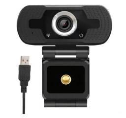 Webcam full hd 1080p com microfone visão 360º
