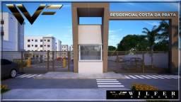 Apartamento à venda com 2 dormitórios em Afonso pena, São josé dos pinhais cod:w.a10619