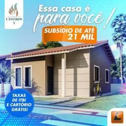 64- Adquira sua casa com condomínio completo/ R$499 de entrada