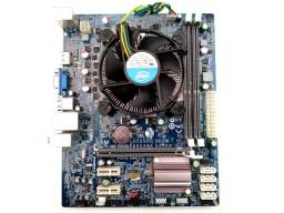 Placa Mãe H61h2-M2 Lga 1155 Ddr3 Sti + Intel Core i3 3220 3.30GHz