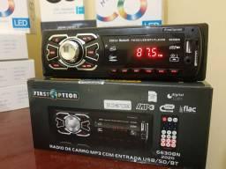Rádio automotivo com Bluetooth First option