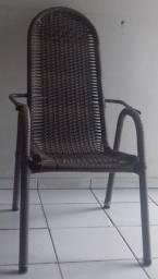Conjunto de Cadeiras em fibra sintética/ Cadeiras para área externa