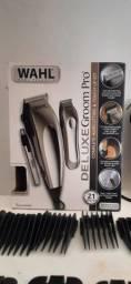 Máquina de cortar cabelo profissional da WAHL com 10 pentes
