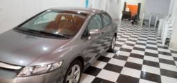 Venda de automóvel Honda Civiv LXS ( cor Cinza) ano 2007