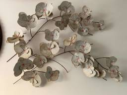 Escultura Orquídea em Metal