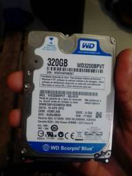 HD para notebooks ou ps3 320gb