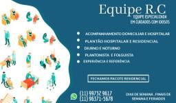 Cuidado com idosos - Equipe especializada - Jundiaí