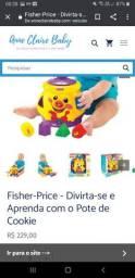 Fisher-Price em português Pote de Cookie