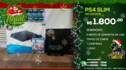 Natal é na Anubis Games! Ps4 Slim 500 gb com garantia é na poderosa Anubis!!!