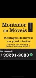 MONTAGEM DE MÓVEIS EM GERAL E FRETES