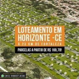 Terras Horizonte no Ceará Loteamento na margem da BR.!!)