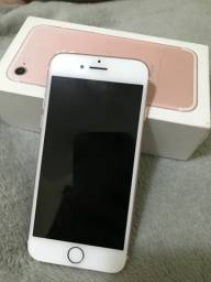Iphone 7 Ouro Rose, 128 gb