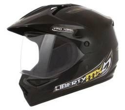 Capacete Trilha Moto Cross Pro Tork Liberty MX Pro Vision - tamanhos 60 58 - NOVOS