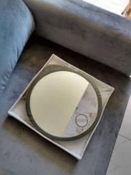 Espelho redondo 33cm diâmetro