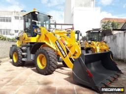 Pá Carregadeira Megamak, Caçamba 1.2m³ 2000kg, Completa 0km - Pronta Entrega