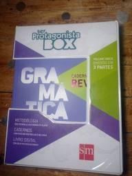 Box gramática ser protagonista EM